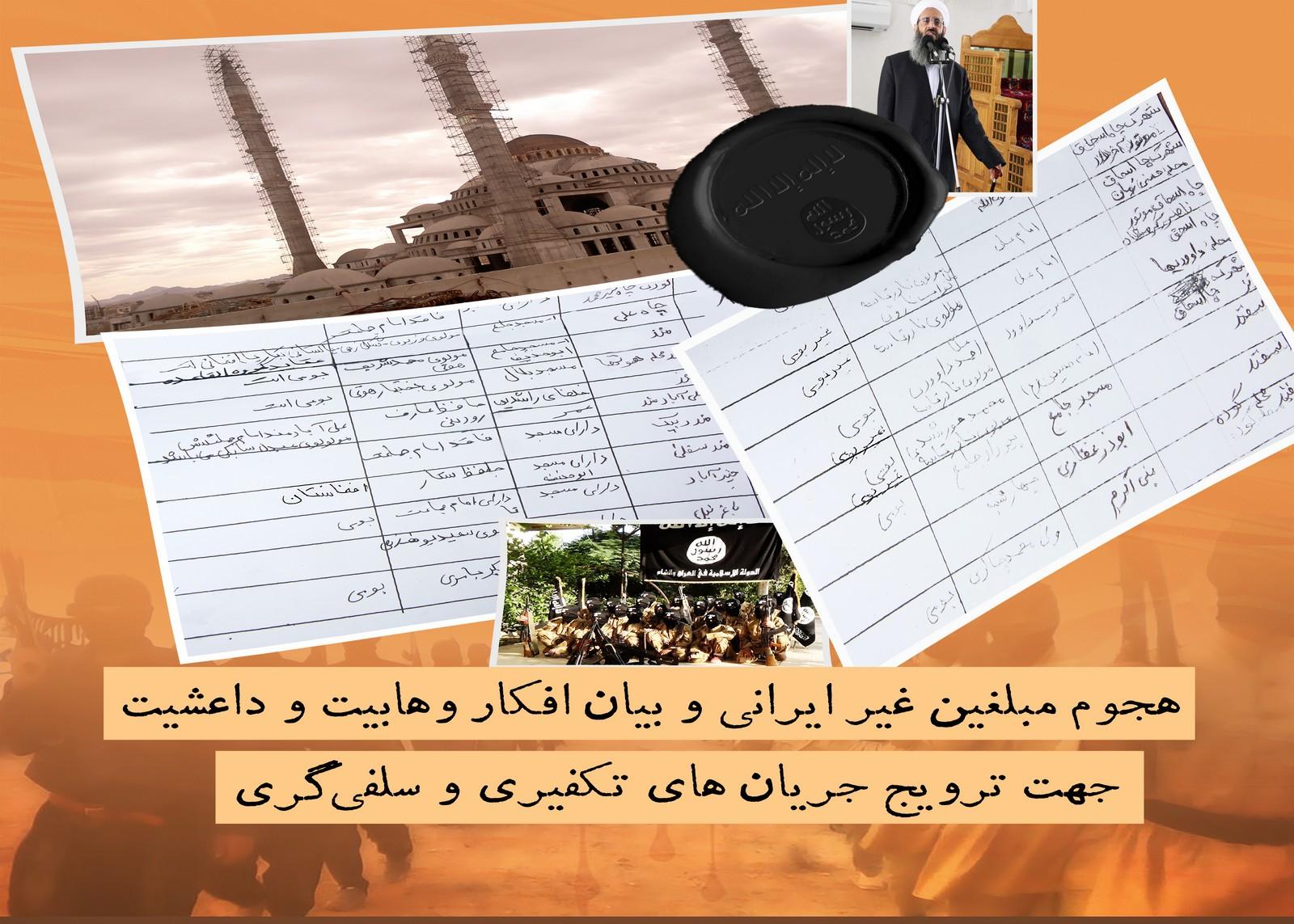 گزارش توصیفی – تحلیلی از  خطر وهابیت در جنوب استان کرمان