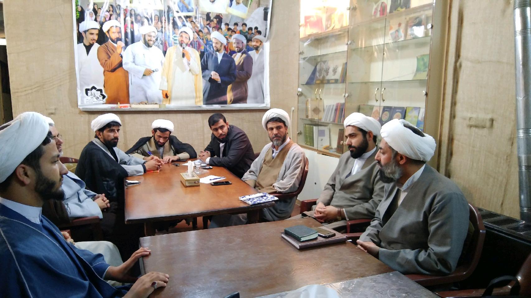 شورای گروههای تبلیغی به میزبانی موسسه _ اردیبهشت 98